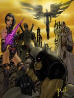 uncanny x-force by Superpael