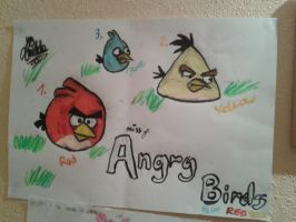 Miss of Angry Birds by Pixel-Candy