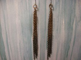 Chain Earrings for Contest by Sashei-Alexandre