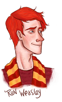 Ron Weasley by Oranjes