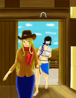 Lady Spies: The Ranch Affair (Commission) by Lady-of-Mud