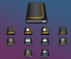 Compact HDD icons by sntxdesign