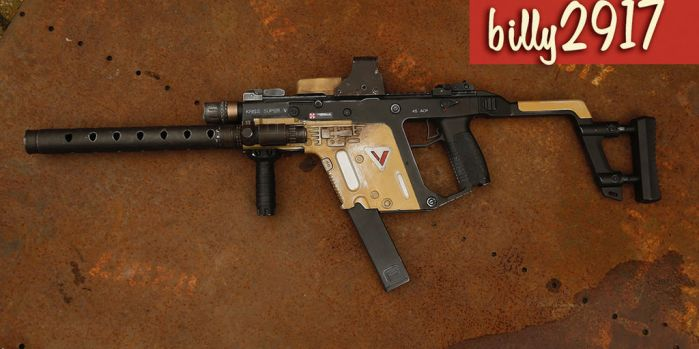 kriss vector by billy2917