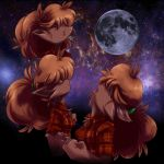 Three Winnie Moon by Gannadene