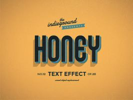 Retro Vintage Text Effect No.12 by IndieGround
