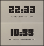 Pricedown Rainmeter Clock by hello-123456