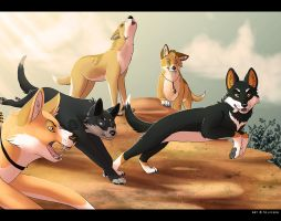 Hunters by Silvixen