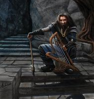 Thorin Oakenshield by AnthonyChristou