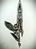 Angelic Blade by Sacroth