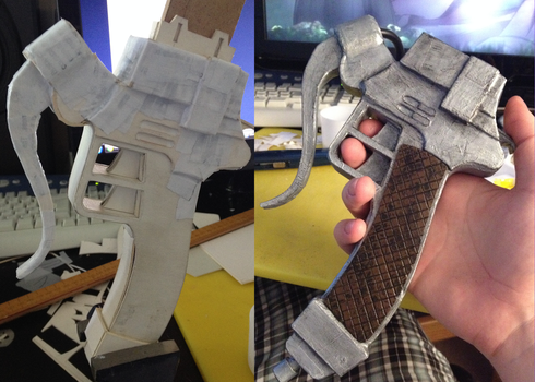 Attack on Titan: 3DMG WIP 3.5 by Gregggle