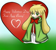 Iggy Bunny - Happy Valentines Day! by blackstardragon1234