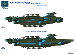 Nato Alliance Cruisers Part 1 by Luckymarine577
