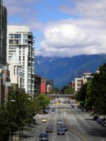 Downtown Vancouver by puffthemagicdragon77