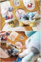 Cubchoo Cookie Sweets Train by KeoDear