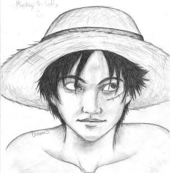Attempt at Realism Luffy by dichana