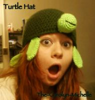 Turtle Hat by the-carolyn-michelle