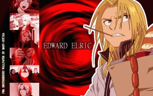 Edward Elric wallpaper by Mary-Gotika