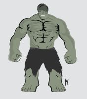 Hulk by StopRewindPlay