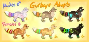 Gurbaye Monster POINT ADOPTABLE --OPEN-- by sillydawq