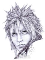 FF7 - CLOUD Strife - Pen 2 by Washu-M
