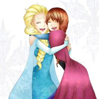 Elsa and Anna by ine-27