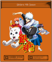 Gintama 4th Season - Anime icon by Aliceieous