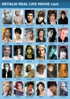 Hetalia Real Life cast by LadyDeadPooly