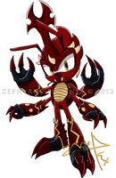 Sonic Chara: Kabuto the Beetle by Zephyros-Phoenix