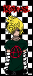 Punk Rock Roxas - Painaholic by br1te