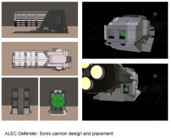 ALEC-Defender-Sonic-cannon- Design and Placement by mdbruffy