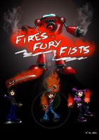 Fire's fury Fists by Mustashio