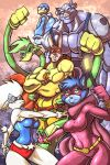 Captain Carrot and Zoo crew by Jaehthebird