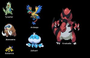Pokemon Black Team 7.24.2011 by SpiderMatt512