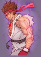 Evil Ryu by 4hoursleep