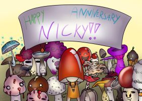 Anniversary Card for Nick by InklingMoe