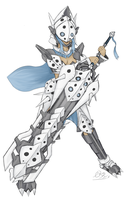 Aron, Lairon, Aggron Pocket Monster Hunter armor by TheOmniShadow