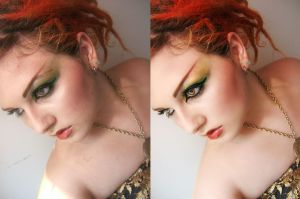 Retouch - Red Medusa by sayra