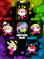 Inside Out Emotions Meme with Pommy by PokeGirlRULES