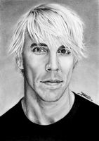 Anthony Kiedis by dinodevic12