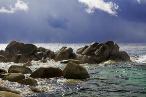 October Tahoe Storm II by sellsworth