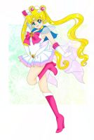 .Super Sailor Moon. by Sailor-Serenity