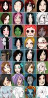 Face Grid by minimonster777