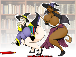 Commission - Witchy Ladies by rampant404