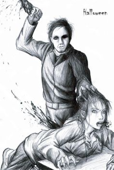 Michael Myers by thehotmageaeris