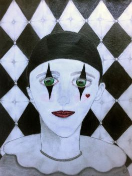Pierrot by celticpath