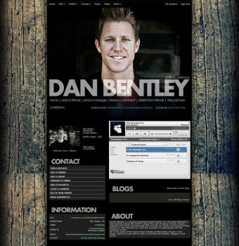 Myspace: Dan Bentley by stuckwithpins