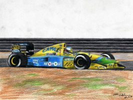Michael Schumacher - Benetton by I-W-E