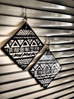 Afro earrings by pushis33