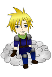 Cloud on a Cloud by thepyroshinigami