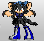 Aisha The Bat by PurpleTheSeedrian95